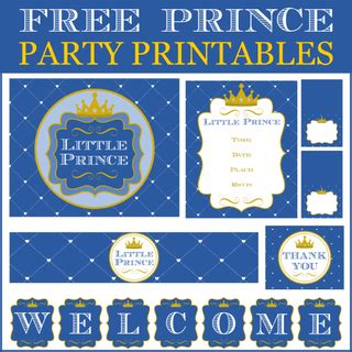 prince party ideas   baby shower catch  party