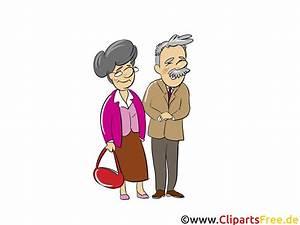 Rentner Bilder Comic : rentner rentnerpaar menschen menschenbilder cliparts menschen ~ Watch28wear.com Haus und Dekorationen