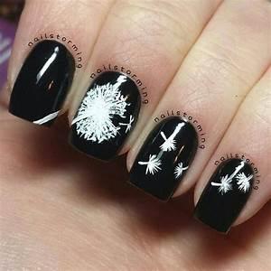 dandelion nail designs hative