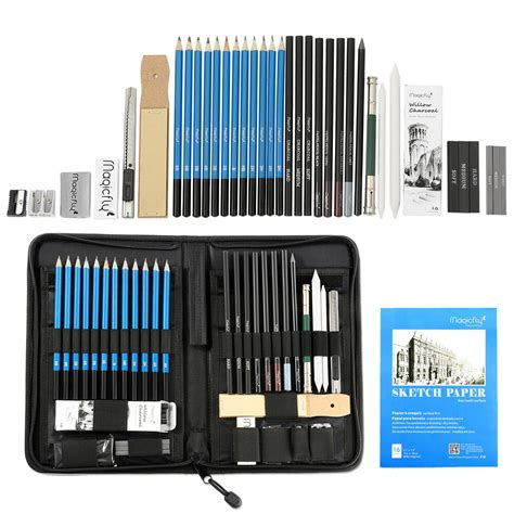 pcs professional drawing artist kit set pencils