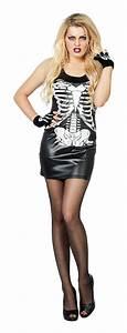 Halloween Skelett Kostüm : skelett kost m damen halloween skelett kleid damenkost m ~ Lizthompson.info Haus und Dekorationen