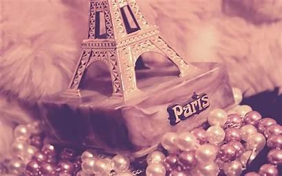 Paris Eiffel Tower Wallpapers Wallpapersafari Girly Desktop
