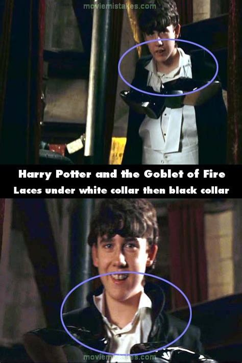 harry potter   goblet  fire   mistake