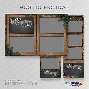 rustic holiday photoshop psd files photo booth talk With photo booth psd template