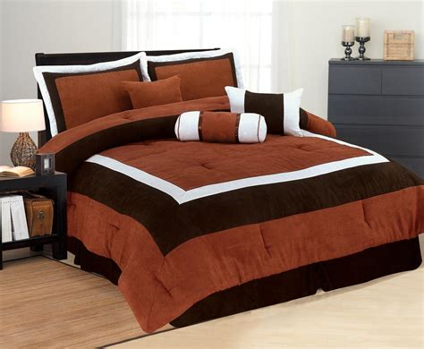 High Quality Micro Suede Comforter Set Bedding-in-a-bag