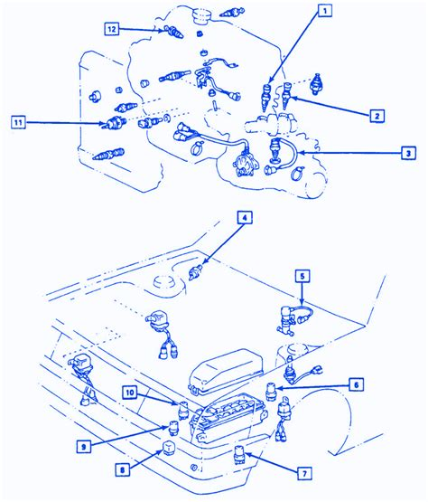 Chevrolet Camaro Front Electrical Circuit Wiring