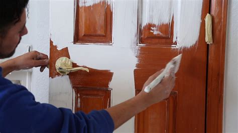 paint  stained door peak pro painting denver