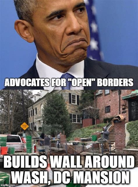 Meme Wall - obama builds a wall imgflip