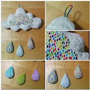 Mobile Bébé Nuage : un mobile nuage pour d corer une chambre de b b ou mary et ses princes ~ Teatrodelosmanantiales.com Idées de Décoration