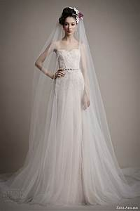 ersa atelier spring 2015 wedding dresses wedding inspirasi With tulle skirt wedding dress
