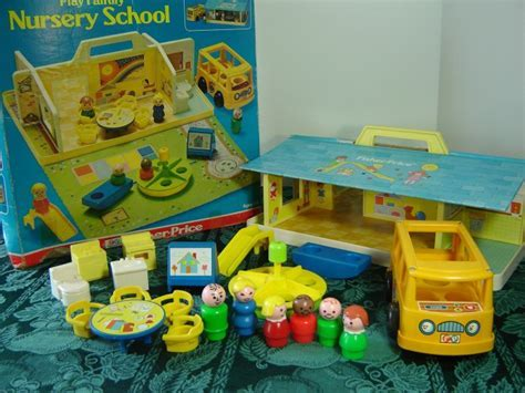 Vintage 1978 Fisher Price Little People Nursery School