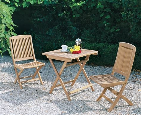 rimini patio garden folding table and chairs set