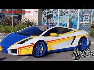 West Coast Customs Built Chris Brown's Lamborghini ...