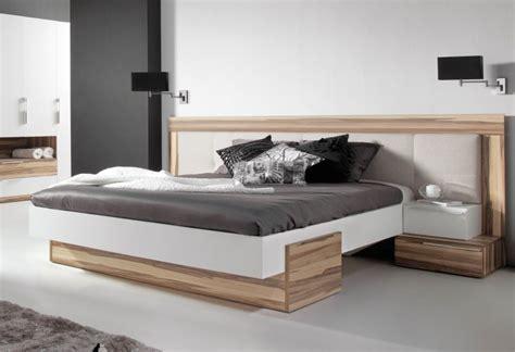 chambre adulte italienne lit bois design italien