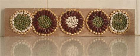 creating  beans bean mosaics creative jewish mom