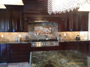 kitchen backsplashes images the vineyard tile murals tuscan wine tiles kitchen backsplashes