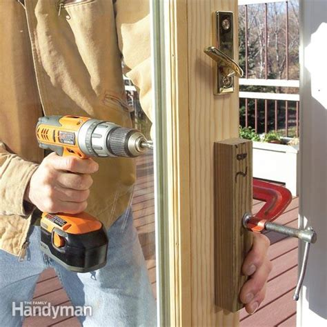 how to install a new patio door replace a patio door the family handyman