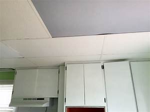 Ceiling lights went out : Kitchen progress removing a drop ceiling and