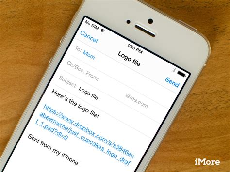 how to send large from iphone how to send large email attachments from your iphone or