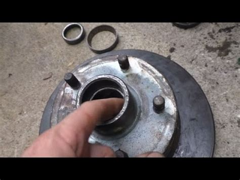 Boat Trailer Wheel Bearing Replacement Cost by Utility Trailer Hub Bearing Replacement Funnydog Tv