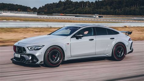 All of a sudden it looks quite inexpensive. New 888bhp Brabus Rocket 900 is mad 200mph+ Mercedes GT 63 S | Auto Express