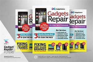 Gadget Repair Flyers by kinzishots GraphicRiver