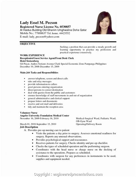 Objective In A Resume by Modern Sle Objectives In Resume For Applying A