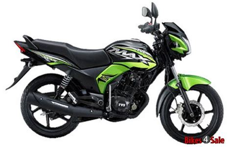 Review Tvs Max 125 by Tvs Max 125 Sports Price Specs Mileage Colours Photos