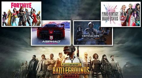 best ios android to play in july 2019 pubg mobile asphalt 9 fortnite critical ops and