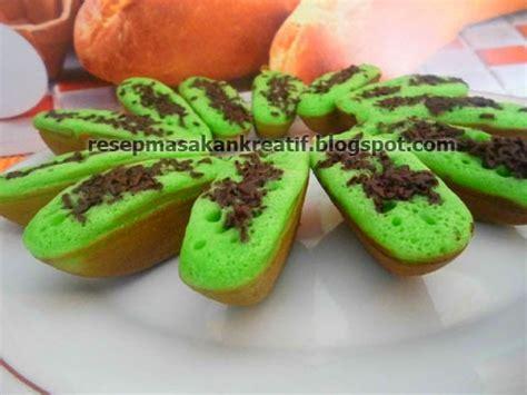 resep kue pukis pandan hijau praktis aneka resep masakan