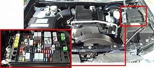 2004 Trailblazer Fuse Box