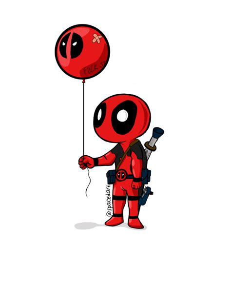Marvel Black Panther Wallpaper Deadpool And His Balloon By Spcdout On Deviantart