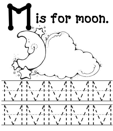 m is for monsters 498 | moon