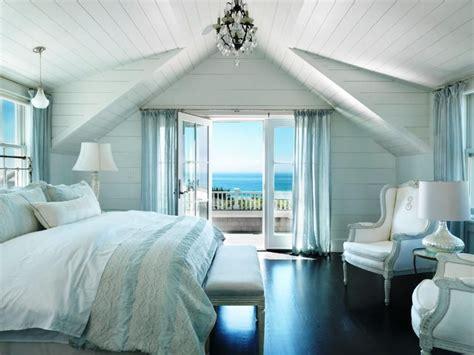 Romantic Beach Theme Bedroom Blue Ceramic Vase Fabric