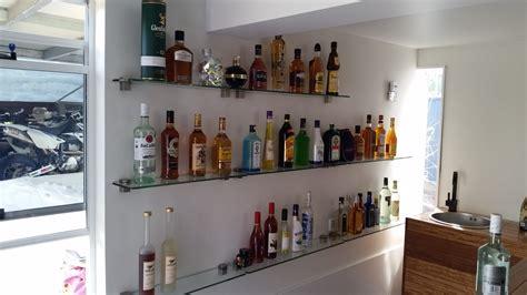 Bar Shelves by 15 Glass Shelves For Bar Area Shelf Ideas