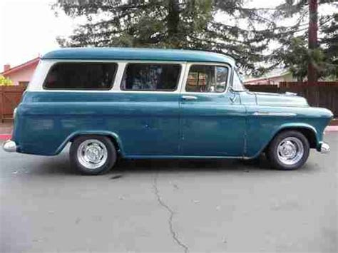 Sell Used 1956 Chevy Suburban Carryall California In