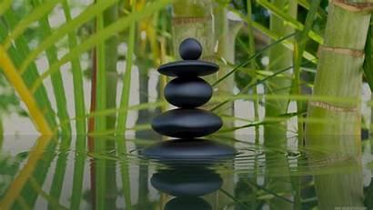 Zen Bamboo Stones Stone Flower Wide Wallpapersafari