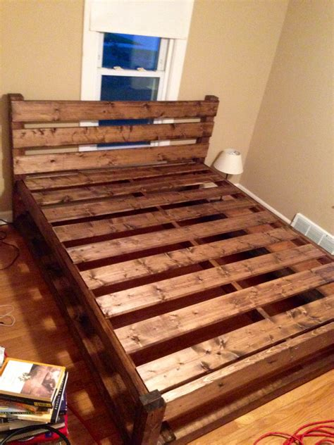 Homemade Wood Bed Frame Plans