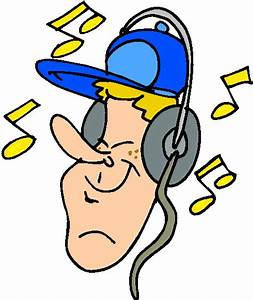 Clip Art - Clip art listening to music 938446