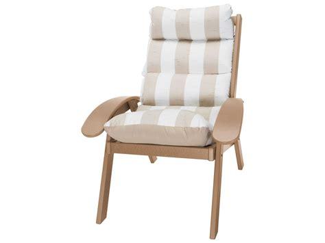 pawleys island coastal recycled plastic cushion chair ccsct