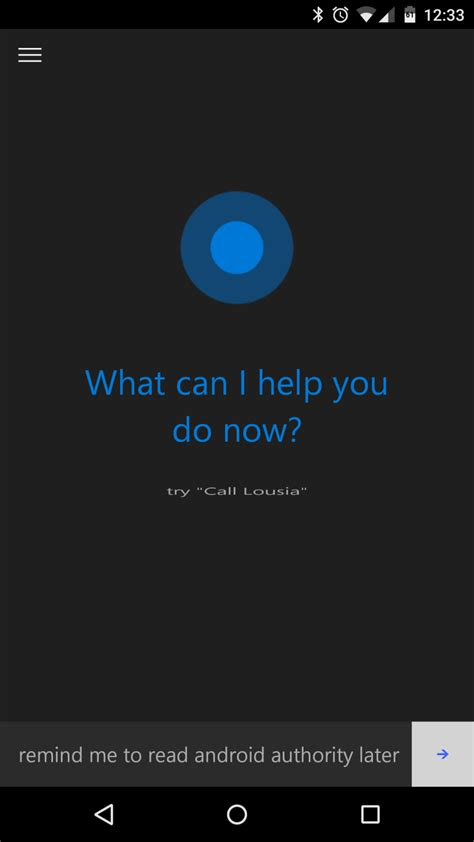 aa app for android listen to this microsoft drops quot hey cortana quot hotword from