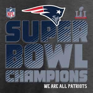 2017 Super Bowl Champions New England Patriots