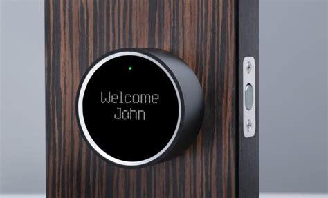 keyless entry house goji smart lock the smartphone activated keyless entry door lock coolpile com