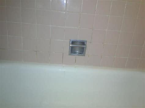 rust stains  tile grout cracks  bathroom tile
