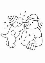 Fun Coloring Winter Dog Cat Colouring Sheets Spot Cards sketch template
