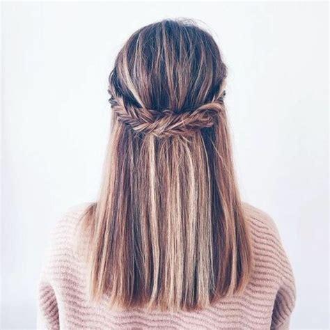 coiffure ado fille  idees de coiffure simple  rapide