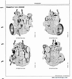 John Deere Powertech 4 5l  U0026 6 8l 4045 And 6068 Diesel
