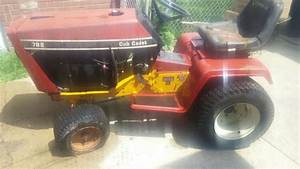Parting Out Cub Cadet 782    1811  Farming  In Harwood