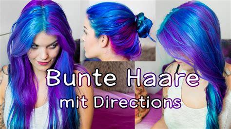 pinke haare färben haare lila blau t 220 rkis f 228 rben mit directions schruppert