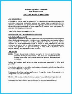Leave Letter To Manager Sample Delivering Your Credentials Effectively On Auto Mechanic